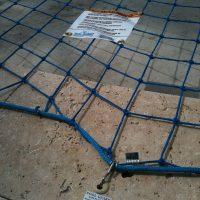 biztonsági hálós medenceháló