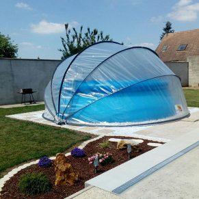 Galéria - SunnyTent kör M méretű buborékos medencefedés