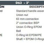 06 D63 CEPEX UP.60.SF5 uj std gömbcsap robbantott ábra