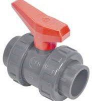 Coraplax PVC gömbcsap rag-rag ragasztós piros színű karral 183x214