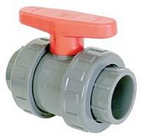 Coraplax PVC gömbcsap rag-rag ragasztós piros színű karral 200x200