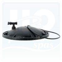 Kripsol SSB szűrőtartály fedél+O-gyűrű+légtelenítő szelep+manométer 400x400