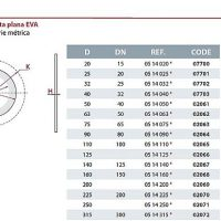 CEPEX Laza karima Tömítés Pillangószelephez EVA 14 - FLAT GASKET 900x387
