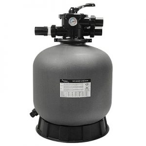 PRAKTIK homokszűrő tartály, felülszelepes, PE tartály p500 400x400