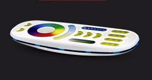 MiLight RGB+W+W RF 4 zónás távirányító FUT092