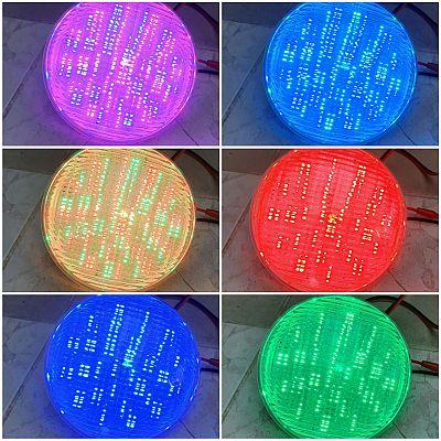 Medencevilágítás, RGB színváltós medenceizzó, RGB smd5730 chip