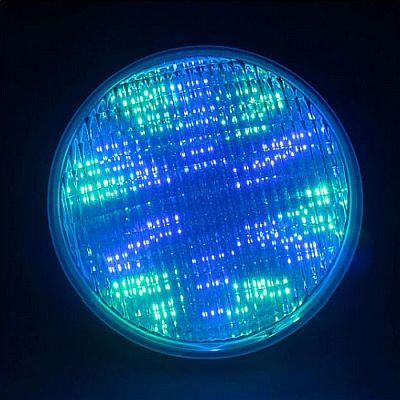 24W-36W-48W-60W-72W (1W-os LED izzóval) smd3030 LED RGB PAR56 foglalatú LED-es medence izzó (12V/AC/DC) + távirányítóval, színes, többszínű + hideg/meleg fehér színben, úszómedencékhez és szökőkúthoz. Az izzó búra anyaga: magas ellenálló képességgel rendelkező, robusztus üvegből készül, a ház anyaga, alumínium: a jobb hőleadás és az smd ledek élettartalma növelése érdekében. Foglalata: standard PAR56, Választható színkombinációk: Meleg fehér, hideg fehér, piros, zöld, kék, sárga, ciánkék, lila