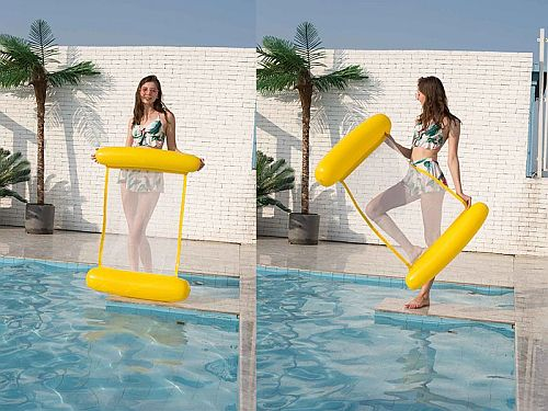 Felfújhatós PVC medenceszék, matracfotel 18 Badushow.hu