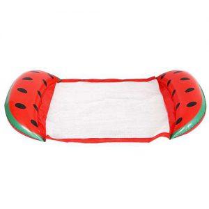 Görögdinnye színű Felfújhatós PVC strandmatrac 2020 modell választék, strandoláshoz, házi medencefürdőzéshez, baráti összejövetelekre, napozáshoz