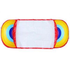 Szivárvány színű Felfújhatós PVC strandmatrac 2020 modell választék, strandoláshoz, házi medencefürdőzéshez, baráti összejövetelekre, napozáshoz
