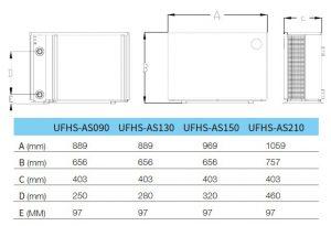 AQUARK MR. SILENCE INVERTERES MEDENCE HŐSZIVATTYÚ 9 KW, 13KW, 15KW, 212KW Termékleírás: A világ egyik leghalkabb inverteres hőszivattyúja, amelyet 20 és 45 m³-es medence víztérfogat között ajánlunk. Paraméterek: - Kiemelkedően magas, akár 14-es COP érték - Fokozatmentes szabályzás, hertzről hertzre, fordulatról- fordulatra - Nagyon alacsony zajszint, legfeljebb 52 dB - Szabadalmaztatott forma, kialakítás, a medence irányába zárt felület látható - Alumínium ötvözetű készülékház - Egyedi a levegő áramlási iránya, a zajcsökkentés és a jó hatásfok érdekében - Érintőképernyős vezérlés - Lágyindítás az elektromos hálózat védelme érdekében - R32 gáztöltet - Csavart titánium hőcserélő, amely 40%-kal nagyobb hatásfokot eredményeznek a normál titánium hőcserélőkhöz képest - Elektronikus expanziós szelep - Wi-Fi - Telefonos alkalmazással is vezérelhető (magyar nyelvű) - -10°C - 43°C működési tartomány