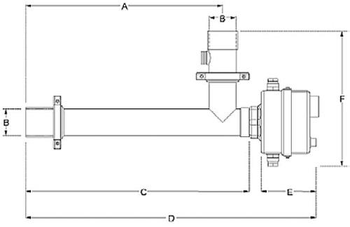 AISI316 rozsdamentes acél ház A fűtő elemek az Incoloy 825 anyagból Kettős védelem - Túlmelegedés elleni biztosítás és külső áramlásérzékelő, mely alacsony áramlás esetén lekapcsolja a berendezést Termosztát 0-40°C; biztonsági termosztát 55°C D50 mm ragasztható csatlakozással szerelve és Elektromos fűtőpatron hidromasszázs kádakhoz, rendszerekhez AISI316 rozsdamentes acél ház A fűtő elemek az Incoloy 825 anyagból Kettős védelem - Túlmelegedés elleni biztosítás és külső áramlásérzékelő, mely alacsony áramlás esetén lekapcsolja a berendezést Termosztát 0-40°C; biztonsági termosztát 55°C D50 mm ragasztható csatlakozással szerelve