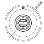 ASTRAL NORM 56499 fóliás befúvó elem méretrajz