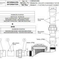 """05 2coll D75 ragasztós / 2"""" menetes csatlakozás kialakítása conjunto_conexiones_2-d.75-52800"""
