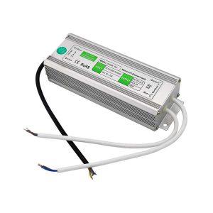 100W Led tápegység IP67 12V, 8,3A, vízálló, kötetlen ledes medencevilágításokhoz, ledes medenceizzókhoz