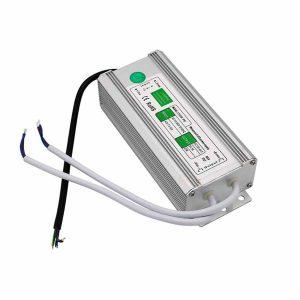60W Led tápegység IP67 12V, 5A, vízálló, kötetlen, ledes medencevilágításokhoz, ledes medenceizzókhoz