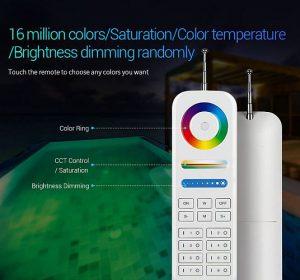 Smart-Pool okos-medence Mi-Light FUT086 433MHz távirányító SZÖKŐKÚT, medence VILÁGITÁS RGB - SZÍNVÁLTÓS