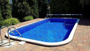 RENOLIT Alkorplan 3000 carrera kék kőmintás úszómedence
