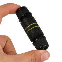 Vízálló kábelcsatlakozó kapszula M25, 3PIN,1.0mm²-6.0mm² , kábel átmérő 5-14mm