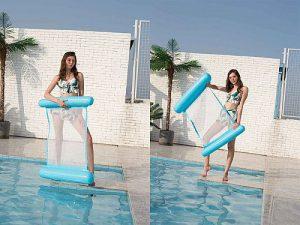 Felfújhatós PVC medenceszék, matracfotel 16