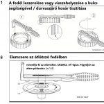 Badu Delta Professzionális medence szűrő és keringtető szivattyú, szűrőkosár fedél kulcs