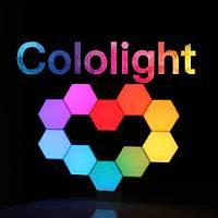 Cololight Pro blokklámpa RGB, Smart Home kiegészítő - Egyedi geometriai formatervezés, nem csak a világítás, hanem a ház díszítése is.