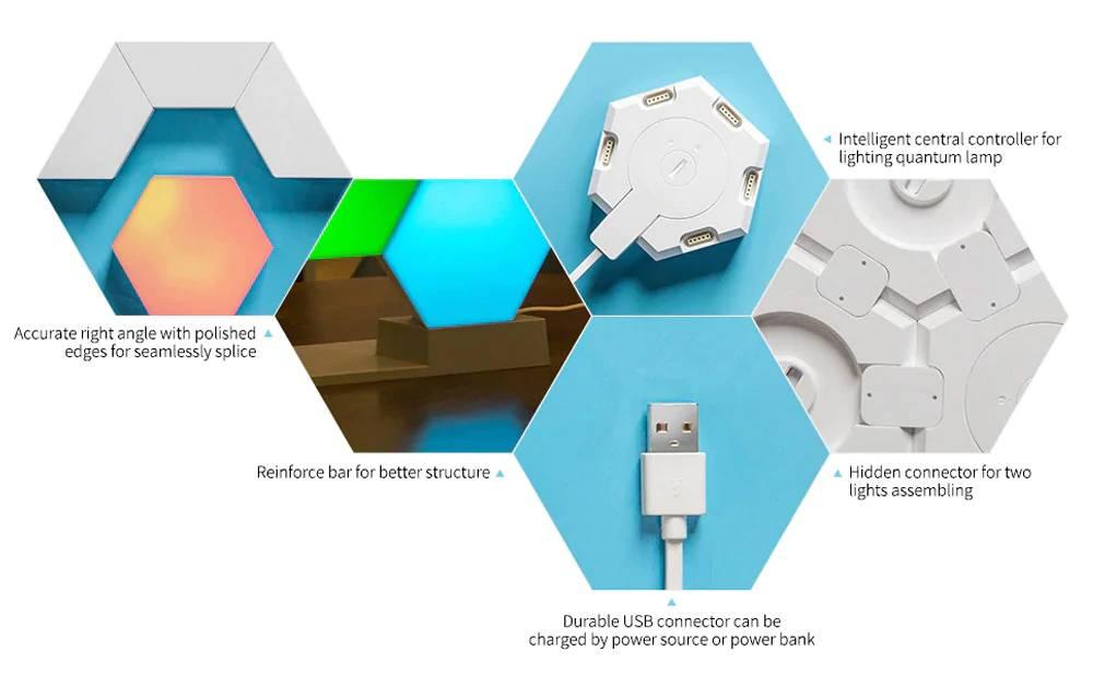 Cololight Pro blokklámpa RGB, Smart Home kiegészítő